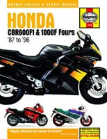 Honda CBR600F1 and CBR1000F Haynes Manual