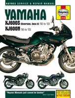 Haynes Manual - Yamaha XJ600S and XJ600N