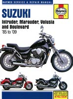 Suzuki VS700/750/800, VZ800, VL800 Haynes Manual