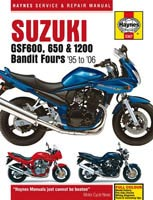 Suzuki GSF600 and GSF650 Bandit Haynes Manual