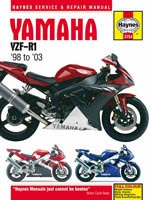 Yamaha YZF-R1 (1998 to 2003) Haynes Manual