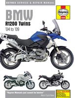 BMW R1200 Twins (2004 to 2009) Haynes Manual