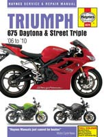 Triumph Daytona / Street Triple 675 Haynes Manual