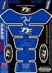 Official Isle of Man TT Races Motografix Blue (Spine) Tank Pad (IOMTT01B)