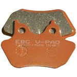 EBC V-Pad Semi-Sintered Brake Pads