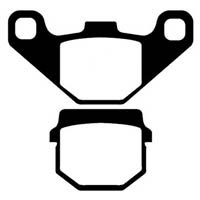 Peugeot Kisbee 100 (2012 to 2014) EBC Brake Pads