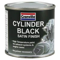 Granville High Temperature Satin Black Paint