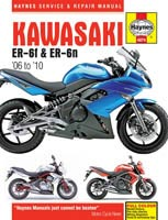 Kawasaki ER-6F and ER-6N (06 - 10) Haynes Manual