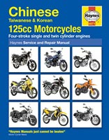Haynes Manual - Chinese 125cc Motorcycles