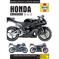 Honda CBR600RR (2007 to 2012) Haynes Manual