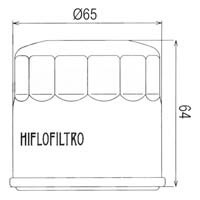 Hiflo Oil Filter HF951 Approximate Dimensions