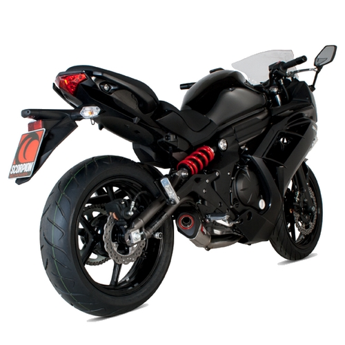 Kawasaki ER 6F Road Legal Scorpion Serket Full Exhaust System