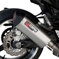 Kawasaki Z1000 (07 - 09) Scorpion Serket Exhausts