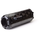Two Brothers Black Series Carbon Fibre Slip-on Exhaust End Can