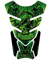 Motografix Tank Pad - Death and Glory (Green)