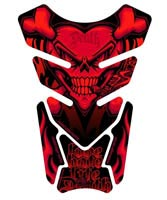 Motografix Tank Pad - Love Hate Life Death (Red)