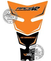 Motografix Tank Pad - KTM Factory Race V2 (Orange)