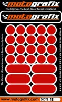Motografix Strips and Dots - Light Red