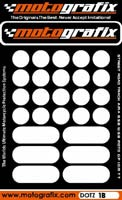 Motografix Strips and Dots - White