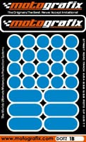 Motografix Strips and Dots - Light Blue
