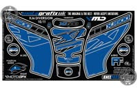 Yamaha XJ6 Diversion (Blue) Motografix Knee Boards
