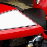 Ducati Sport Classic 1000S Motografix Rear Number Board (RD010S Shown Fitted)