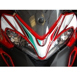 Ducati Multistrada 1200 Motografix Front Number Board	(ND011U Shown Fitted)