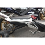 Honda CBR1000RR Fireblade Motografix Rear Number Board (NH010U shown fitted)