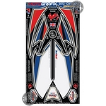 Honda CBR1000RR Fireblade Red / White / Blue Motografix Front Fairing Number Board 3D Gel Protection System (NH021LEG)