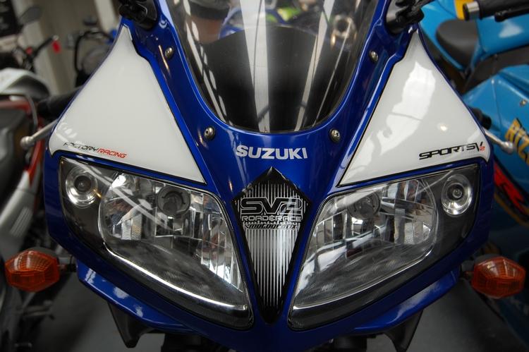 Suzuki Sv1000s Motografix Front Number Board Ns006u