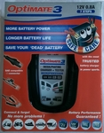Optimate 3 12 Volt Battery Charger / Optimiser