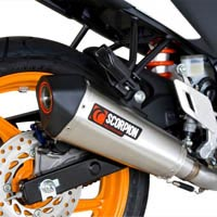 Honda CBR125R (11 to 15) Scorpion Serket Exhaust