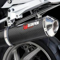 BMW R1200GS (04-09) Scorpion Factory Oval Exhaust