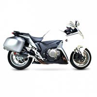 Honda VFR1200 Carbon Fibre Scorpion Factory Oval Exhaust / Silencer (with Stainless Steel Outlet)