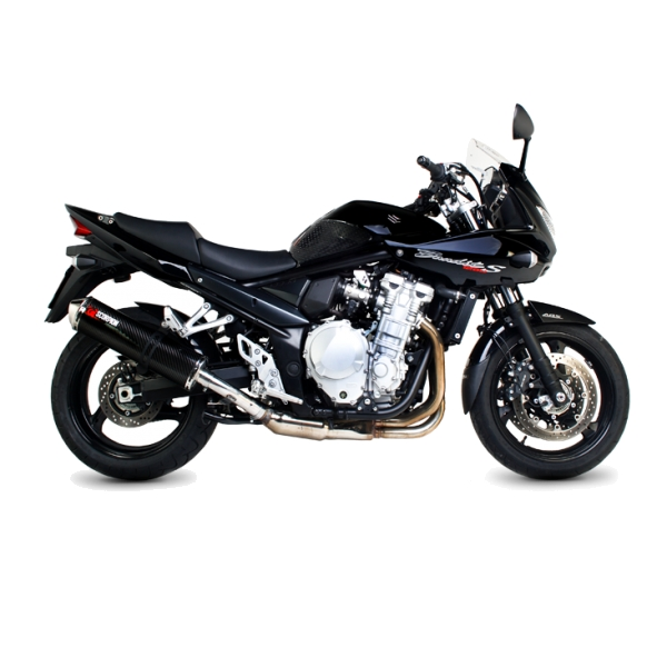 Suzuki GSF1250 Bandit Carbon Fibre Scorpion Factory Exhaust End Can / Silencer (with stainless steel outlet)