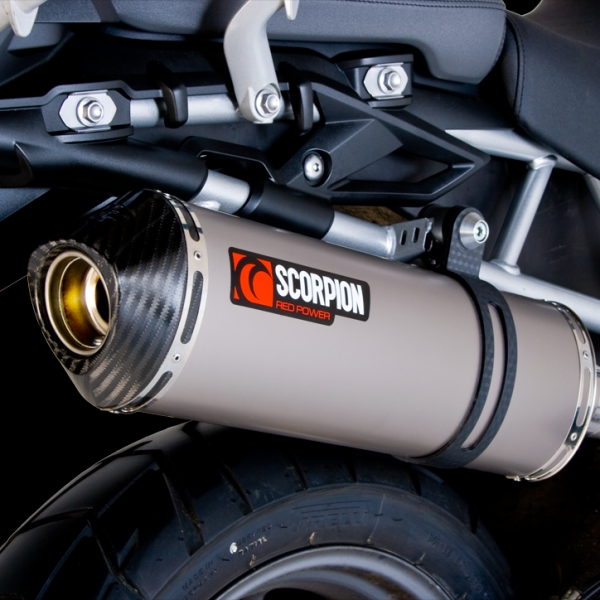 Scorpion Factory Exhaust - Triumph Tiger 800