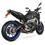Yamaha MT-09 Scorpion Serket Exhaust / Slip-on End Can (Carbon Fibre End Can Shown)