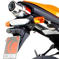 Kawasaki ZX-6R (07 to 08) Scorpion Stealth Exhaust