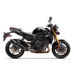 Yamaha FZ8 Two Brothers Black Series Carbon Fibre Slip-on Exhaust
