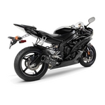 Yamaha YZF-R6 Two Brothers Black Series Carbon Fibre Slip-on Exhaust