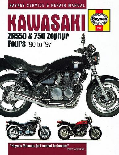 Haynes Manual - Kawasaki Zephyr 550 And Zephyr 750