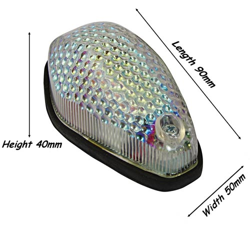 Crystal Fairing Motorcycle Indicators Indfcry Msa Direct
