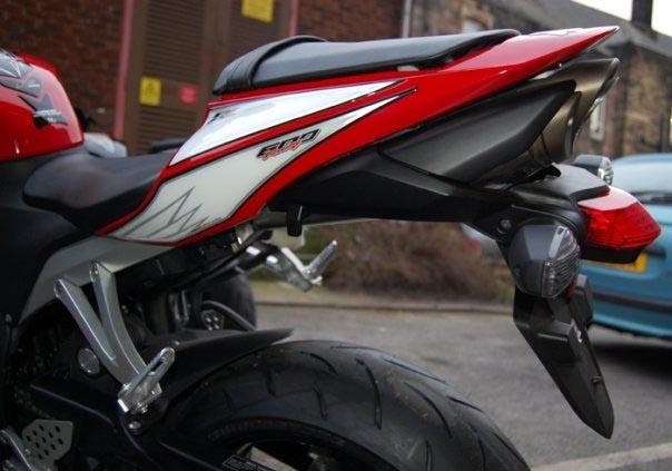 Motografix Rear Number Board Honda Cbr600rr Rh001u