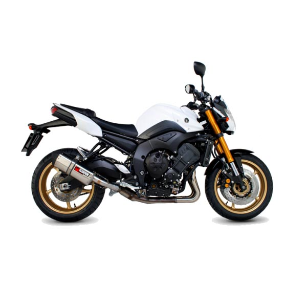 Yamaha FZ8  10-12  Oval Scorpion Factory ExhaustYamaha Fz8 Exhaust