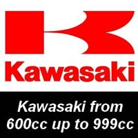 NGK Spark Plugs for Kawasaki Motorcycles from 600cc up to 999cc