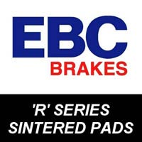 EBC R Series Brake Pads for Motorcycles