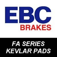 EBC Kevlar Brake Pads for Motorcycles