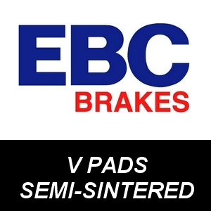 EBC V-Pad Semi-Sintered Brake Pads for Motorcycles