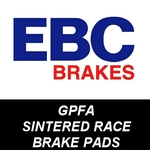 EBC GPFA Sintered Motorcycle RACE Brake Pads