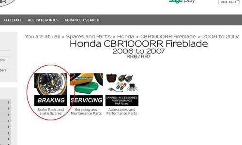 Honda Motorcycle Accessories